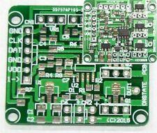 Microchip PIC12 3-CH A/D in 3 PWM MOSFET out controller PCB, DIY RGB LED board
