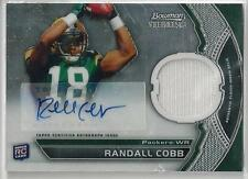 2011 BOWMAN STERLING RANDALL COBB RC AUTO JERSEY!!