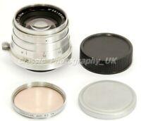 Jupiter-8 2/50mm LEICA LTM Lens 50mm F2 Made in 1958 RARE model w. Focusing Tab!