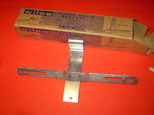 1940's CHEVY FORD MOPAR WILCO LICENSE PLATE BRACKET KIT IN BOX GREAT COLOR