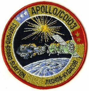 APOLLO / SOYUZ PATCH NASA 1975 TEST PROJECT