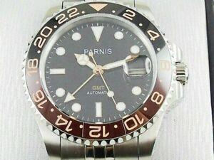 Watch Diver Parnis Gmt Automatic