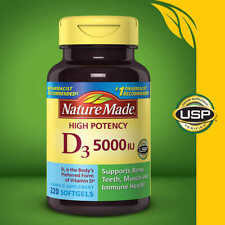 Nature Made Vitamin D3 1000 IU 25mcg, 650 Softgels, IMMUNITY HEALTH!  FAST SHIP!