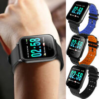 A6 Waterproof Smart Watch Heart Rate Monitor Bracelet Wristband for Android  iOS