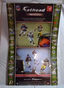 Fathead NFL Teammates Safe Reusable Wall Decals New York Jets Mark Sanchez 10x16
