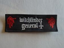 WITCHFINDER GENERAL EMBROIDERED PATCH