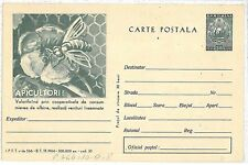 BEES APICULTURE :  POSTAL STATIONERY - ROMANIA