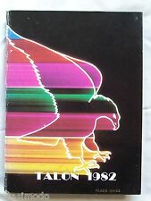 1982 LETO HIGH SCHOOL YEAR BOOK, TAMPA FLORIDA - THE TALON  UNMARKED!