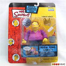 Simpsons playmates Plow King Barney series 11 WoS intellitronic Playmates figure