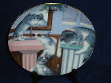 Hamilton Collector's Plate Mischief Makers by Gerardi Country Kitties Kittens