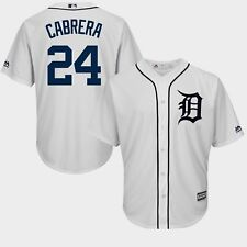 Miguel Cabrera #24 Detroit Tigers Cool Base Jersey 6XL Plus Sizes Majestic MLB