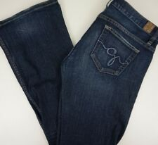 Guess Womens Jeans 30x32 Foxy Flare Distressed Stretch EUC