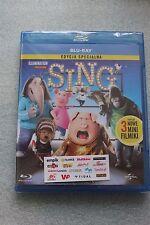 Sing (Blu-ray Disc) POLISH RELEASE SEALED POLSKA WERSJA