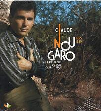 CLAUDE NOUGARO 1955-1959 a la recherche du son qui fait sens 2CD hardbook SEALED