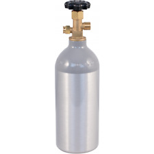 2.5 lb CO2 Tank Aluminum Air Cylinder Draft Beer Kegerator Welding Wine Homebrew