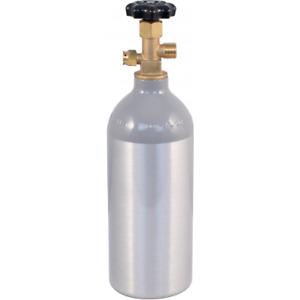 2.5lb CO 2 Tank Aluminum Air Cylinder Draft Beer Kegerator Welding Wine Homebrew