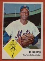 1963 Fleer #48 Al Jackson EX-EXMINT+ New York Mets FREE SHIPPING