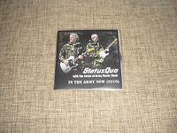 STATUS QUO - IN THE ARMY NOW 2010 - CD+DVD ADVANCE ACETATE DJ PROMO SET   UNIQUE