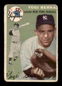 1954 Topps Set Break #50 Yogi Berra GD *OBGcards*
