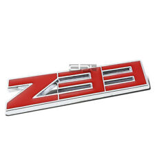 Fit Fairlady Z33 Metal Bumper Trunk Grill Emblem Decal Logo Badge Chrome Red