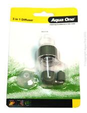 Aqua One C02 Difusor De Cerámica dióxido de carbono Contador de burbujas Planta Fertilizante
