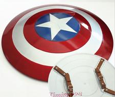1:1 Avengers Captain America Shield Alloy Metal Version Cosplay Prop Display