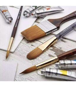 KINGART® Finesse™ Kolinsky Sable Synthetic Blend Brushes, Set of 4 🔥