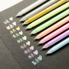 3pcs/lot Fresh Candy Color Gel Pens Kawaii Stationery Painting Pen Drawing Pen