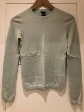 Theory Light Blue Cashmere Sweater Jumper P XS S Small