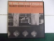 THE BARREL HOUSE BLUES OF SPECKLED RED  FOLKWAYS RECORDS