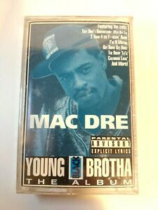 Mac Dre  Young Black Brotha Cassette Tape Rare Hip Hop Rap Bay Area 1993 New OOP