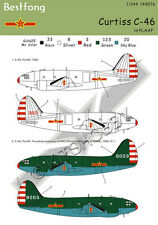 Bestfong Decal 1/144 Curtiss C-46 Commando in China (PLAAF)