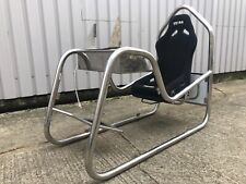 Stainless Steel Tubular Gaming Chair race simulator cockpit driving seat game