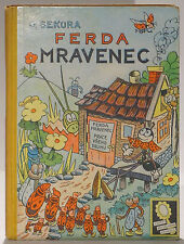 Czech children's book Ferda Mravanec written and illustrated by Ondrej Sekora
