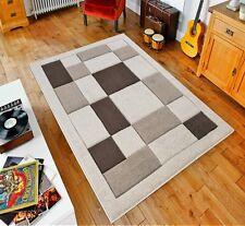 Beige/Brown Havana90 Rug carpet Thick 12MM Polypropylene Non Shed Soft DustProof