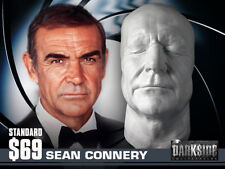 NEW SEAN CONNERY LIFE-SIZE Life Cast Life Mask in Lightweight White Resin