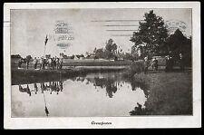 AK--1.-Weltkrieg--Grenzposten --1916 -TOP-