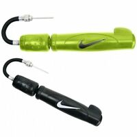 Nike new double action dual action hand pump -black & Yellow football rugby ball
