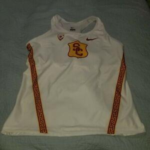 Nike Team Issued USC Trojans Track Field Running Singlet AJ6516-XXX Sz 2XL