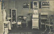 Ophthalmic medicine section La Vigile hospital laboratory Italy Real Photo 1930s