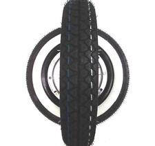 Vespa 50 N Special PK XL PV ET3 Weisswand Reifen komplett Felge schwarz  3.00-10