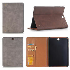 Luxury Flip Wallet Card Leather Case Cover For Samsung Tab A 3 4 S S2 S3 Tablet