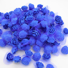 50 Pieces Mini Artificial Flowers, Real Looking Rose, Decor, Wedding, DIY Craft