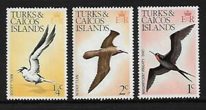 1973 Birds Part set of 3 Complete MUH/MNH as Purchased at Post Office
