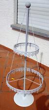 Deko Pyramide Baum Metall weiß
