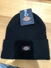 Dickies  Black Acrylic Men's Hat Beanie NWT