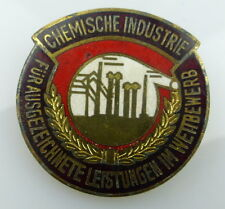Medaille ausgezeichnete Leistungen im Wettbewerb chemische Industrie, Orden1857