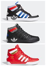 Adidas Hard Court Hi Entrenadores De Cuero Nuevo