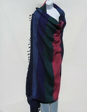 "Yak Wool Blend|""Oversized""|Blanket/Throw/Shawl| Handloomed|Nepal|92-85"" x 50-46"""