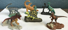 Vintage 1993 2� Jurassic Park Metal Diecast Dinosaurs *Lot of 6 Ucs and Amblin